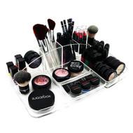OnDisplay Elizabeth Deluxe Acrylic Cosmetic/Jewelry Organization Tray