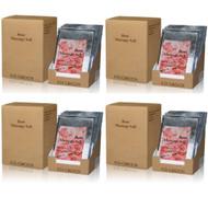 Royal Massage Natural Sea Salt Mineral Massage Scrubbing Salts Case (80g packets x 80) - Rose