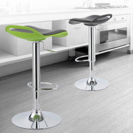 Set of 4 Beckham Contemporary Adjustable Barstool - White