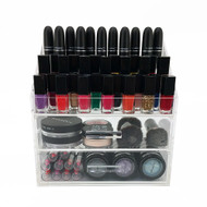 OnDisplay Acrylic Cosmetic/Makeup Nail Polish Rack Organizer