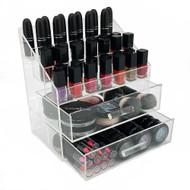 OnDisplay Acrylic Cosmetic/Makeup Nail Polish Rack Organizer