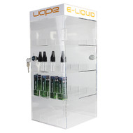 OnDisplay Deluxe Locking Juice Display Cabinet w/Opt. Decals - 201