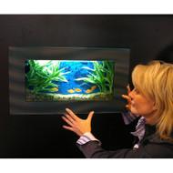 Aussie Aquariums Wall Mounted Aquarium - Mini Black