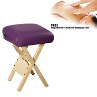 MT Wooden Handy Stool - Purple