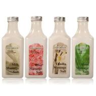 Royal Massage Natural Sea Salt Mineral Massage Scrubbing Salts 10.5oz Bottle - Set of 4 Bottles