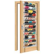 OnDisplay Over-the-Door Shoe Rack Tower (up to 36 pairs)