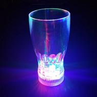 Modern Home LED Blinking Light 20oz Soda/Beer Glass