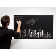 "Modern Home Adhesive Blackboard Wallpaper Stickers - 23.6"" x 79"""