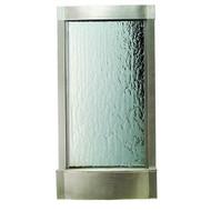 Modern Home Stainless Steel Wall Waterfall Fountain w/Mirror & Light -  WW3