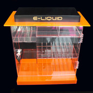 OnDisplay Deluxe Locking e-Juice Display Cabinet w/Opt. Decals - 202