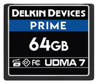 Delkin Devices 64GB Prime UDMA 7 CompactFlash Memory Card