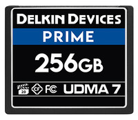 Delkin Devices 256GB Prime UDMA 7 CompactFlash Memory Card