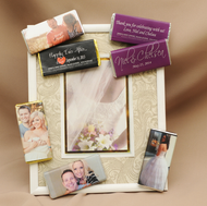 Custom Wedding Chocolate Bars