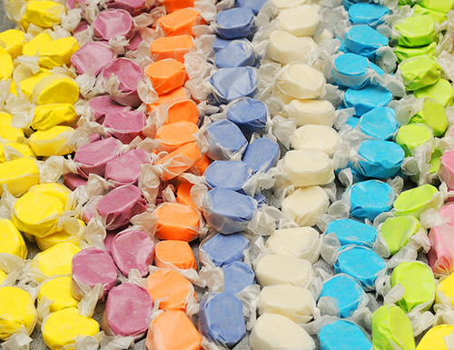 Assorted Flavors Saltwater Taffy