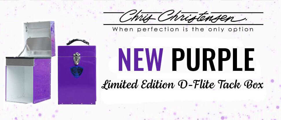 New Purple Limited Edition Tack Box
