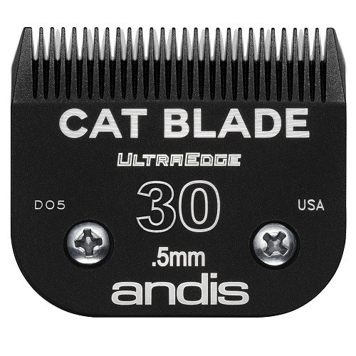 Andis - EGT UltraEdge Cat Blades, Charcoal Color, #30