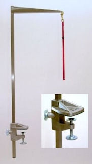 """Tableworks - Terrier Folding Grooming Arm (40""""), Complete with Clamp and Noose"""