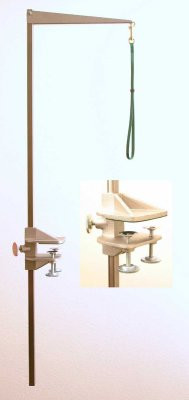 "Tableworks - Large (48"") Folding Grooming Arm, Complete with Clamp and Noose"