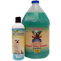 EZ Groom Crystal White Dog Shampoo