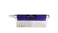 "Resco - Spritzer Fine/Course Combo Comb, 1.5"" pins, Sparkle Purple"