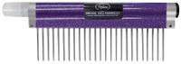 "Resco - Spritzer Comb - Course, 1.5"" pins, Sparkle Purple"