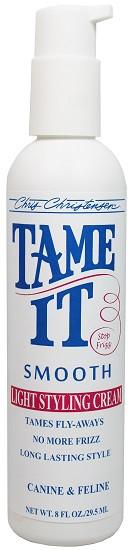 Chris Christensen - Tame It Smooth, Light Styling Cream, 8 oz