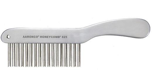 AARONCO - Aluminum Honeycomb Double Row 51 Medium Teeth, 1 3/8 in Long (AA825)