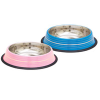 Colored and Silver 8oz Stainless Steel Dishes