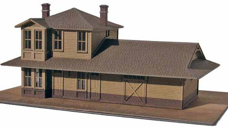 N-Scale NP 2-Story Depot