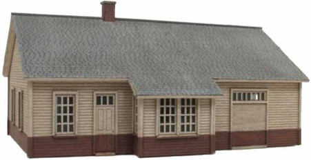 HO-Scale 30' x 48' NP Std Plan Depot