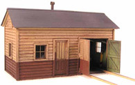 O-Scale NP Motor Car/Work Shed