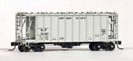 N-Scale Airslide Covered Hopper