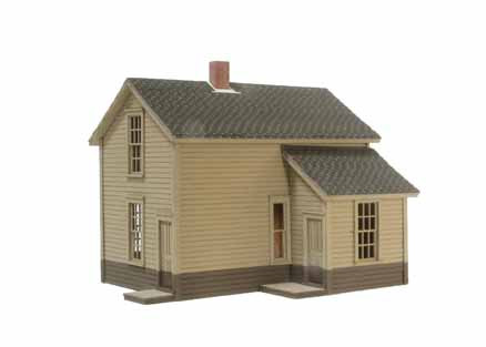 HO-Scale 1.5-Story Section House