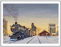 NP 1504 at Glen Ullin ND Winter Cards