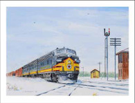 NP 6008 at Detroit Lakes MN Winter Cards
