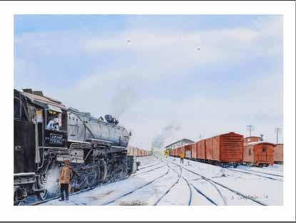 NP 4012 in Auburn WA Yard Winter Cards