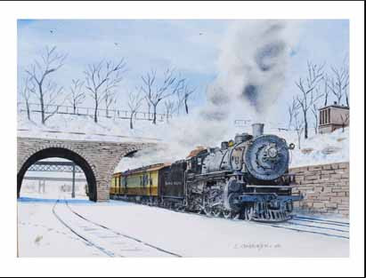 NP 2227 at St. Paul MN Winter Cards