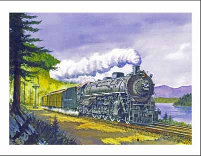 NP 2626 at Lake Easton WA Note Cards