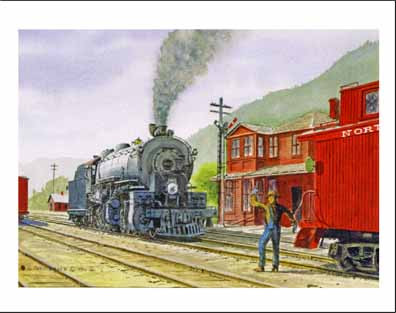 NP 4007 at Lester WA Note Cards