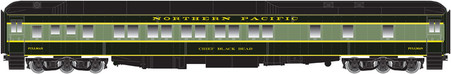 Bethlehem Car Works NP 10-1-1 Pullman Sleeper Pine Tree Paint Scheme