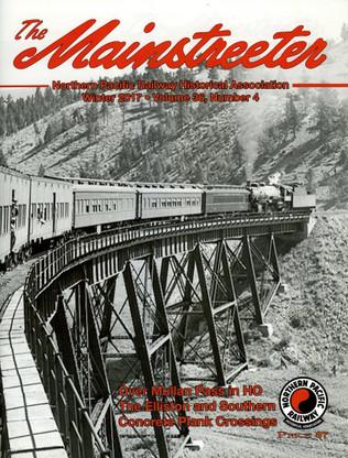 Mainstreeter Fall 2017 Volume 36, No. 4.