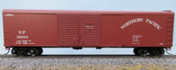 Bowser 50 ft, double sliding door, round roof, PRR X31 designed boxcar.
