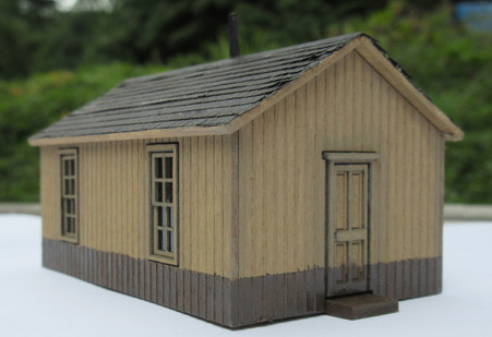 HO - Scale NP Bunk House