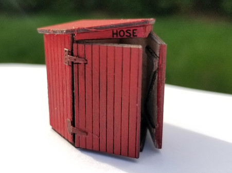 HO - Scale NP Hose House