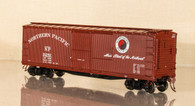 "Rapido Post 1948 DS Boxcar - 48"" Monad - Main Street slogan"