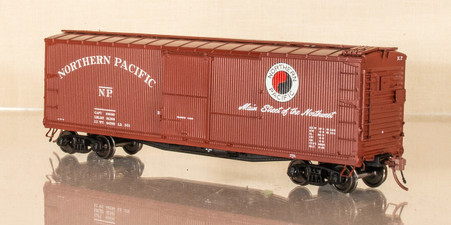 "Rapido Post 1948 DS Boxcar - 48"" Monad -NO ROAD NUMBER"