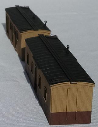 HO - Scale NP Boxcar Sheds