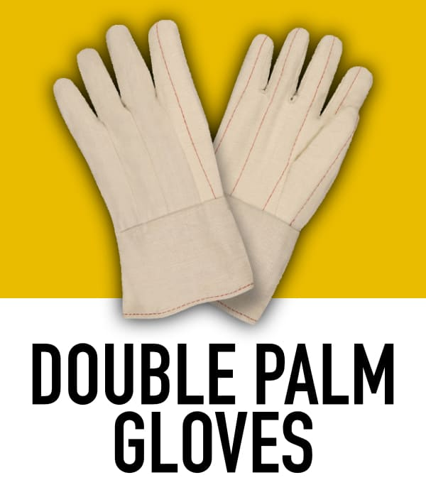 Cotton Double Palm Gloves