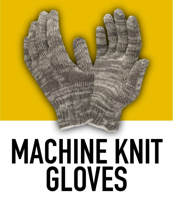 Machine Knit Gloves