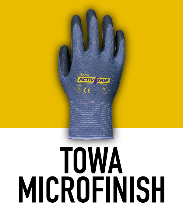 Towa MicroFinish Gloves